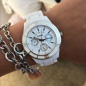 Fossil watch. Barley worn.